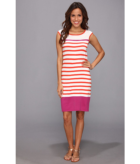 Hatley - Sleeveless Sweater Dress (Fire Raspberry) Women's Dress