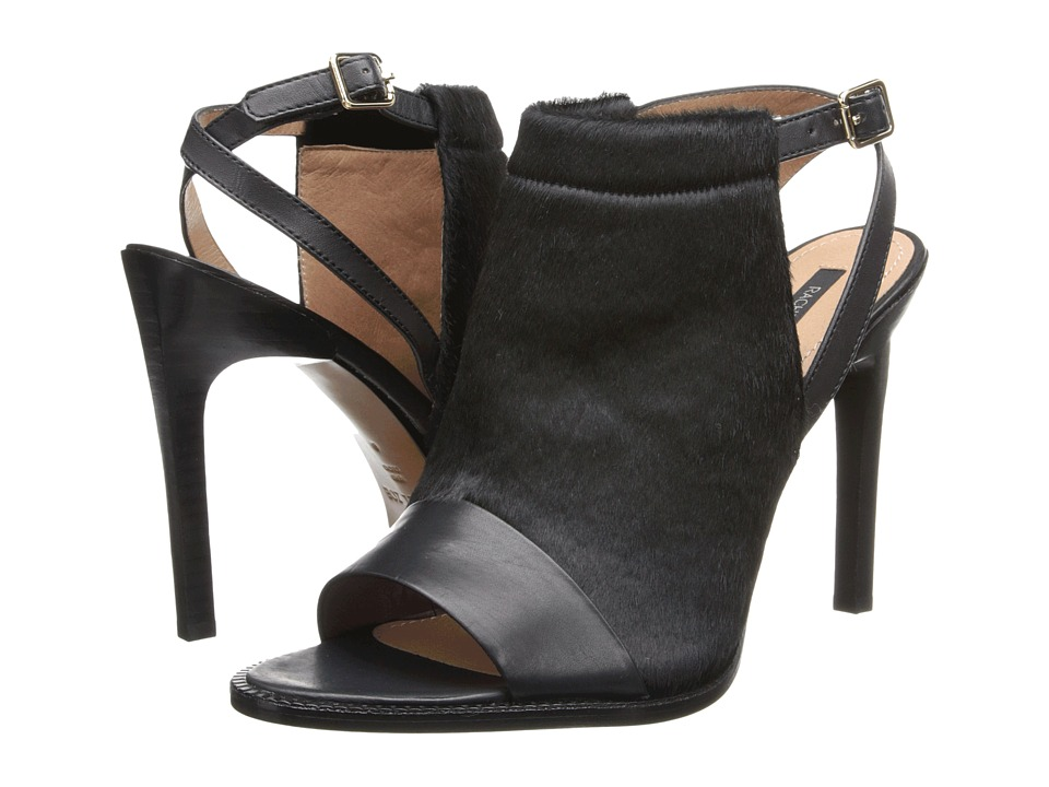 Rachel Zoe - Lacey (Black Baby Calf/Hair Calf) High Heels