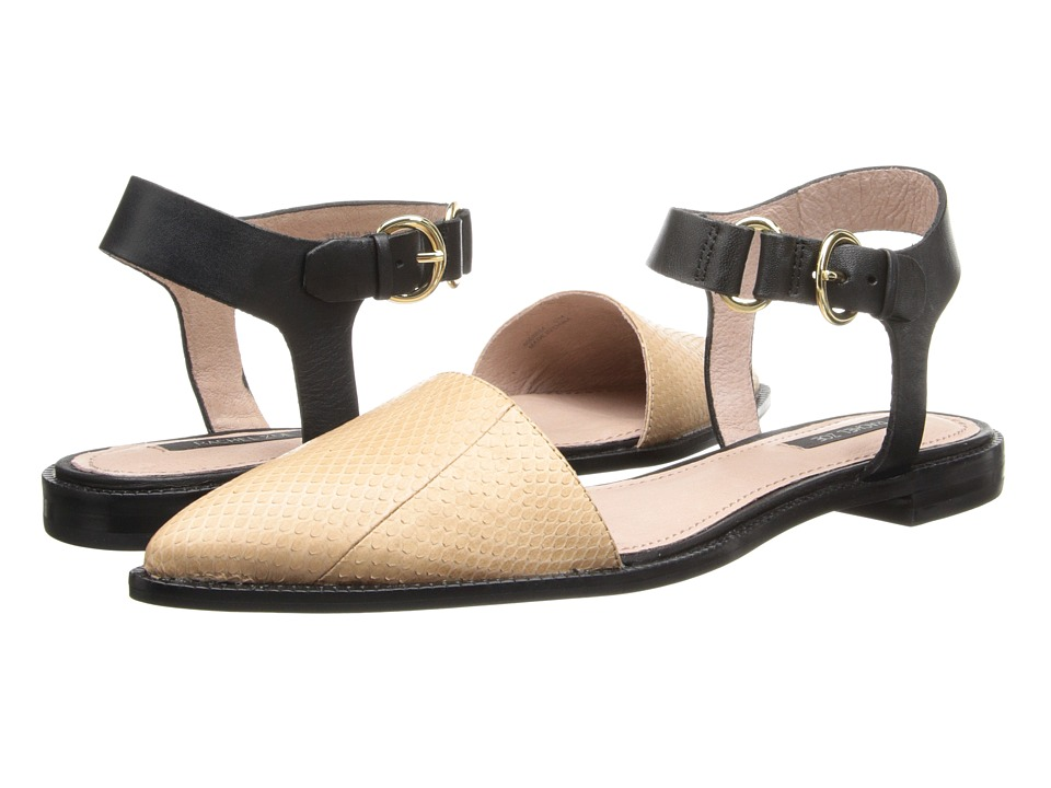 Rachel Zoe - Iris (Rose Snake/Vachetta) Women's Flat Shoes