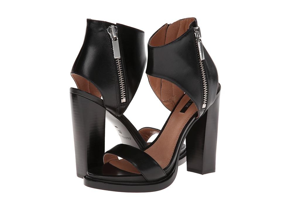 Rachel Zoe - Jamie (Black Vachetta) High Heels