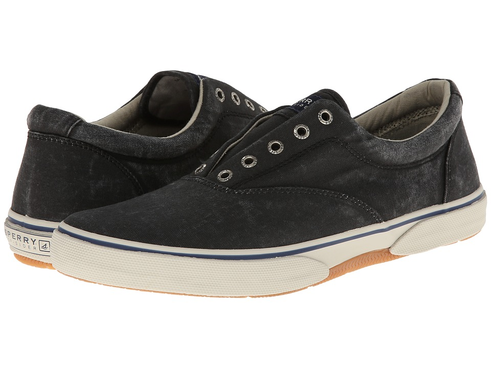 Sperry Top-Sider Halyard Laceless CVO (Black) Men