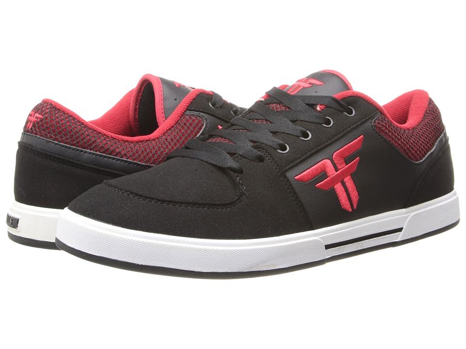 Fallen - Patriot III (Black/Blood Red) Men's Skate Shoes