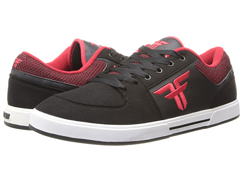 Fallen - Patriot III (Black/Blood Red) Men's Skate Shoes