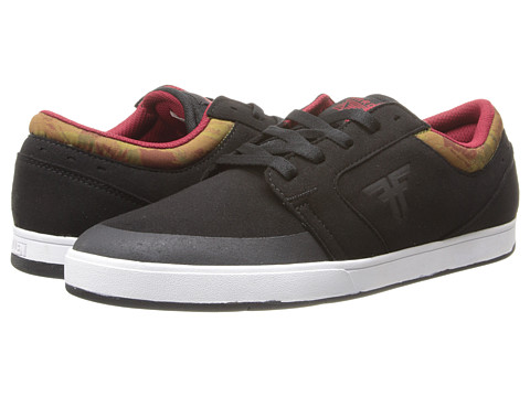 Fallen - Torch (Black/DIY Camo) Men's Skate Shoes