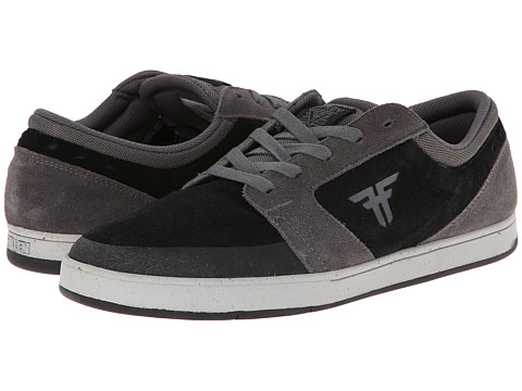 Fallen - Torch (Ash Grey/Flat Black) Men's Skate Shoes