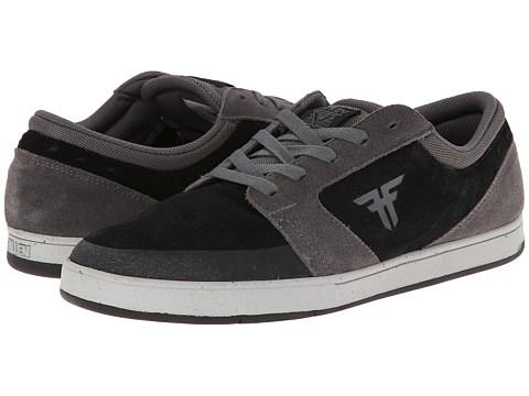 Fallen - Torch (Ash Grey/Flat Black) Men's Skate Shoes