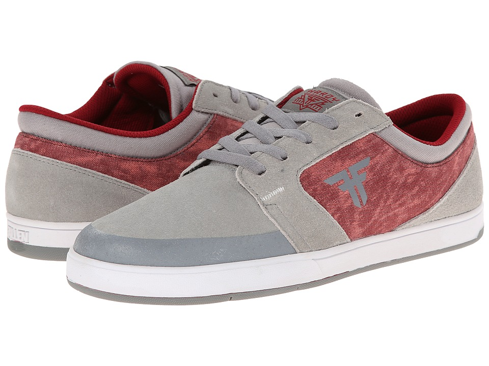 Fallen - Torch (Cement Grey/Oxblood Acid) Men's Skate Shoes