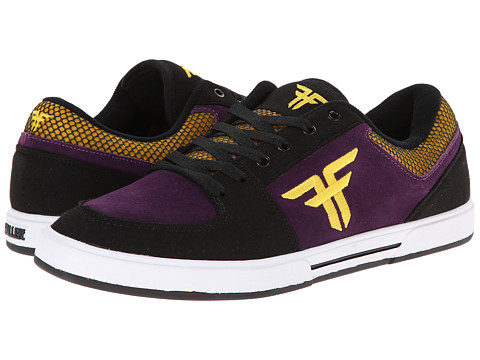 Fallen - Patriot III (Deep Purple/Dark Yellow) Men's Skate Shoes