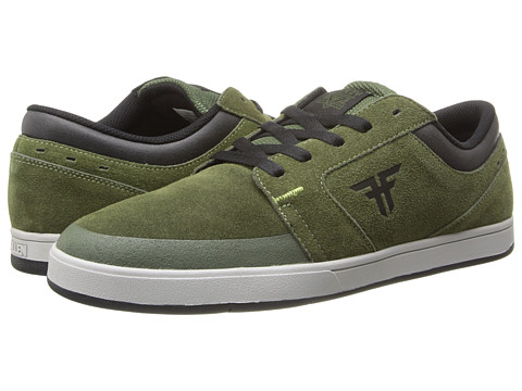 Fallen - Torch (Surplus Green/Black) Men's Skate Shoes