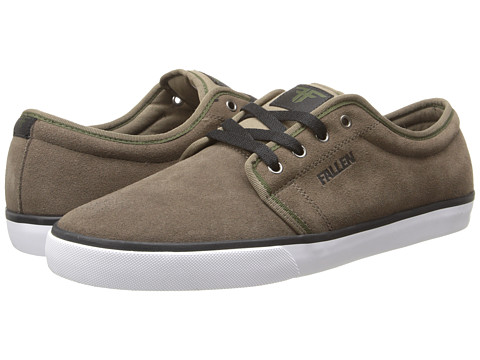 Fallen - Forte 2 (Afgan Brown/Black) Men's Skate Shoes
