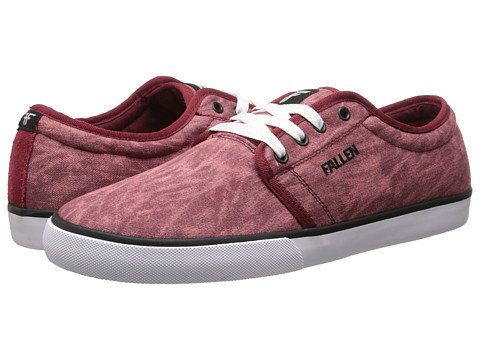 Fallen - Forte 2 (Oxblood Acid) Men's Skate Shoes