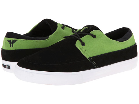 Fallen - Roach (Black/Green/Deathwish) Men's Skate Shoes
