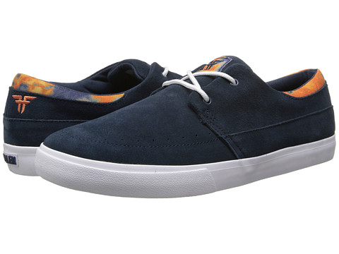 Fallen - Roach (Midnight Blue/Orange Acid) Men's Skate Shoes