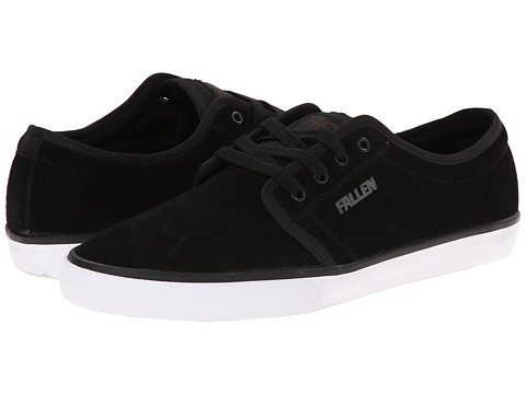 Fallen - Forte 2 (Black/Black) Men's Skate Shoes