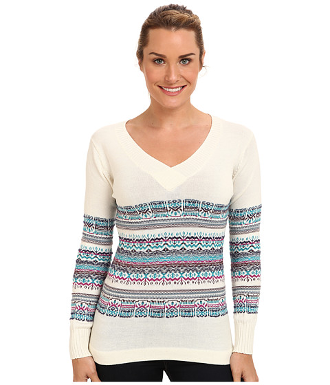 ExOfficio - Cafenista Jacquard Sweater (Vellum) Women's Sweater