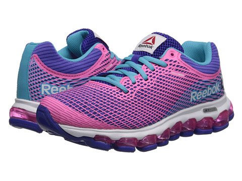 Reebok Kids - ZJet (Big Kid) (Ultima Purple/Electro Pink/Neon Blue/White) Girls Shoes