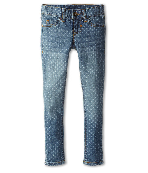 Billabong Kids - Moonbeam Super Skinny Stretch Denim Pant (Litttle Kids/Big Kids) (Vintage Blue) Girl's Jeans