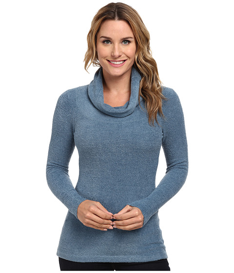 ExOfficio - Irresistible Dolce Cowl Neck Sweater (Dusk) Women's Sweater