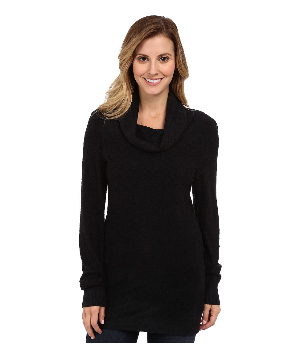 ExOfficio - Irresistible Dolce Cowl Neck Sweater (Black) Women's Sweater