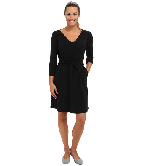 ExOfficio - Go-To 24 Hour Dress L/S (Black) Women