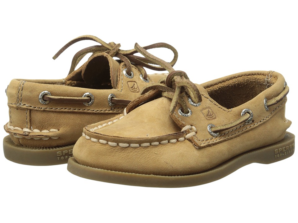 Sperry Kids - A/O (Toddler) (Sahara Leather) Boys Shoes