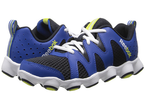 Reebok Kids - ATV19 Boom (Little Kid) (Impact Blue/Reebok Navy/White/High Vis Green) Boys Shoes