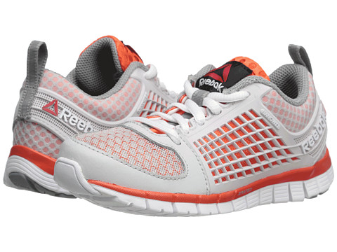 Reebok Kids - Z Electrify (Little Kid) (Steel/Flux Orange/Flat Grey/White) Boys Shoes