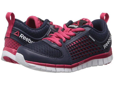 Reebok Kids - Z Electrify (Little Kid) (Collegiate Navy/Magenta Pop/White) Girls Shoes