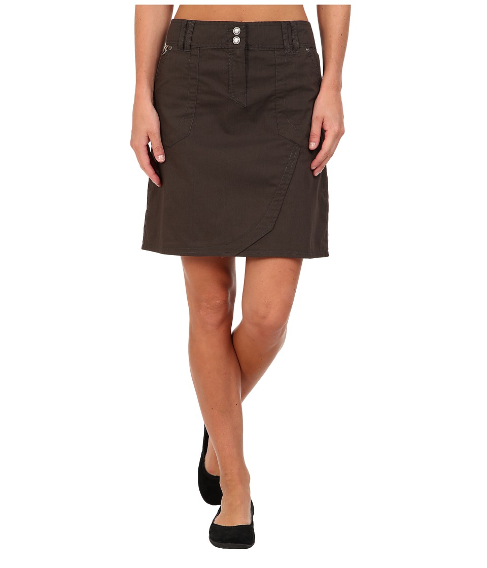 ExOfficio - Gazella Skirt (Dark Pebble) Women's Skirt