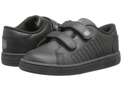 K-Swiss Kids - Lozan Strap DX (Infant/Toddler) (Black/Black) Kid's Shoes