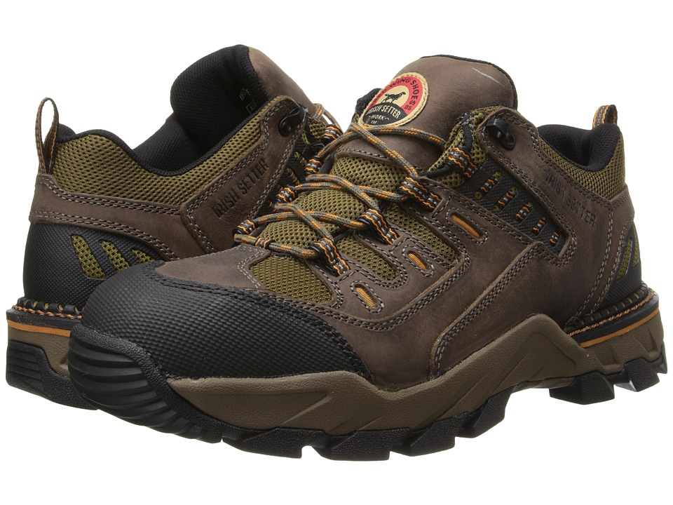 Irish Setter - Two Harbors (Brown Leather/Brown Mesh/Rust Accents) Men