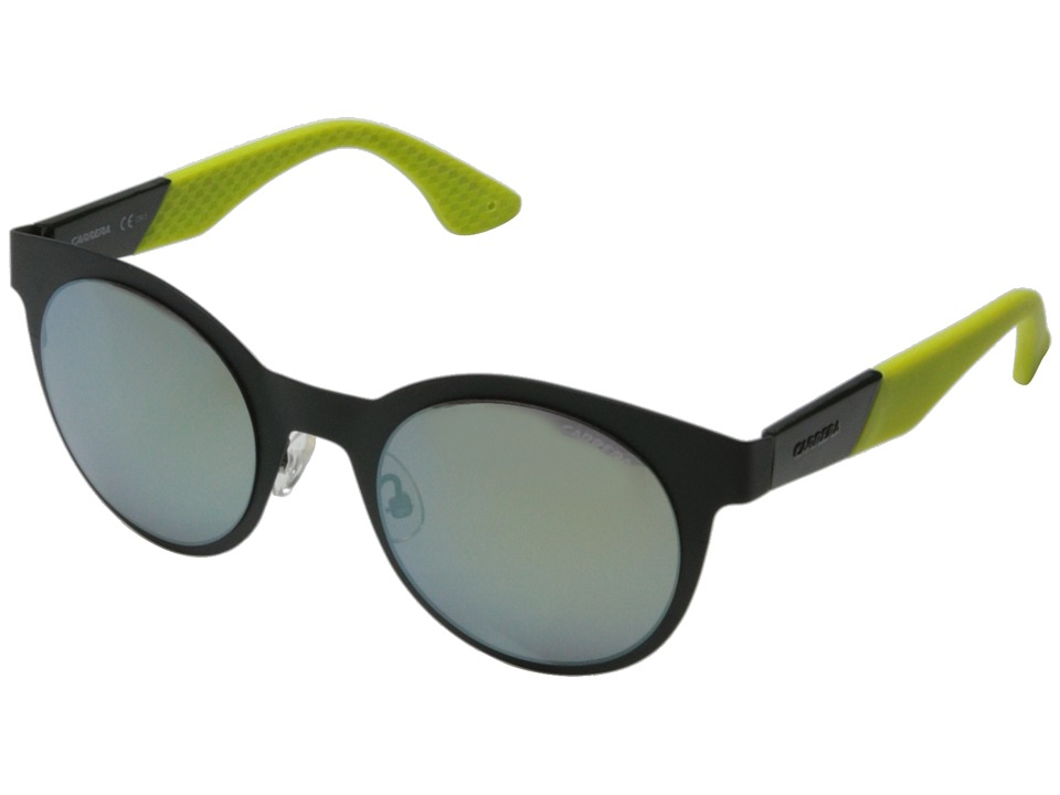 Carrera - Carrera 5012/S (Green/Yellow Mirror) Fashion Sunglasses