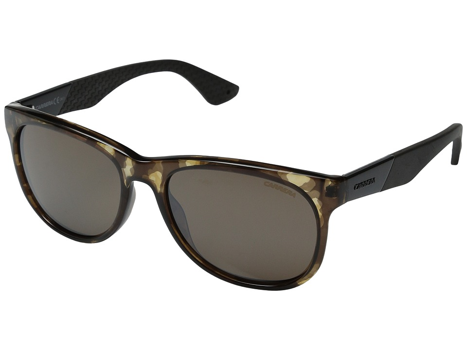 Carrera - Carrera 5010/S (Camo Brown Silver Mirror) Fashion Sunglasses