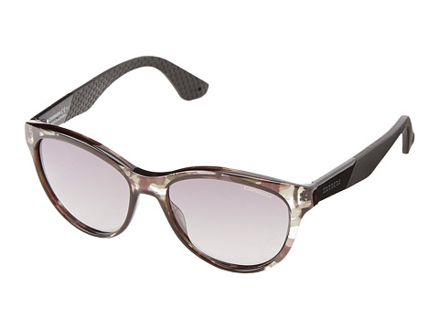 Carrera - Carrera 5011/S (Camo Black Gray/Gray Mirror Gradient Silver) Fashion Sunglasses