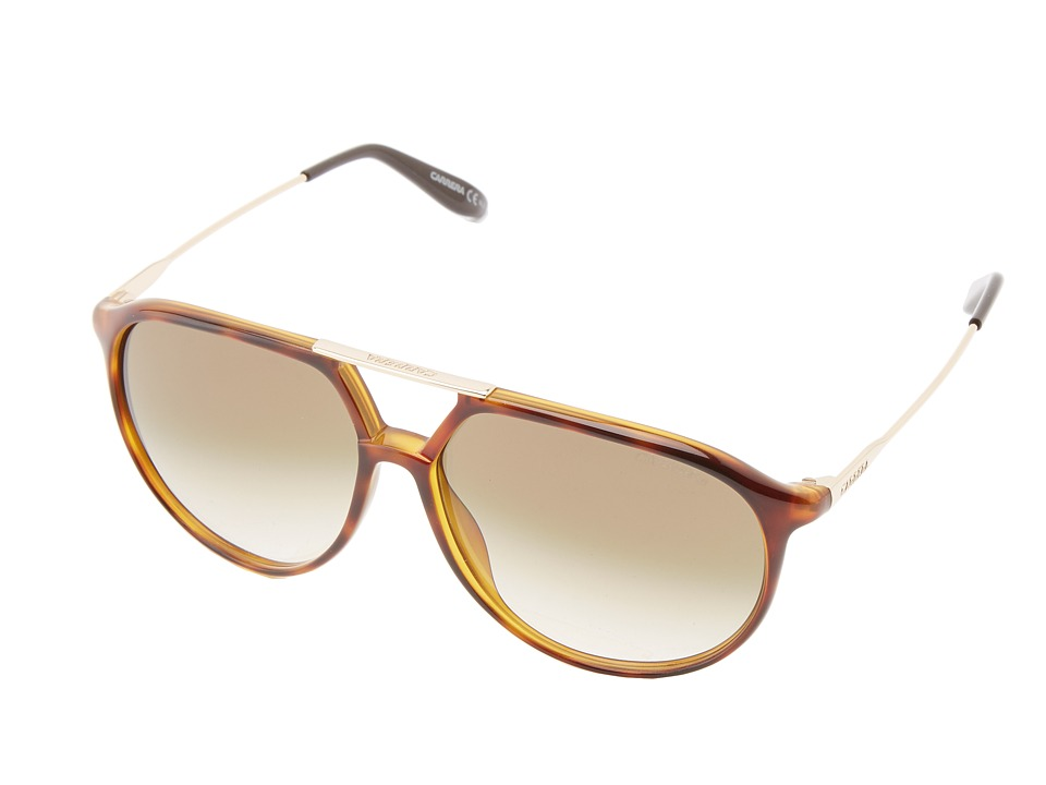 Carrera - Carrera 85/S (Light Havana/Brown Gradient) Fashion Sunglasses