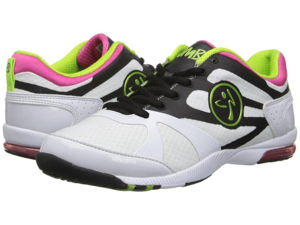 Zumba - Zumba Impact Max (White/Black) Women's Shoes