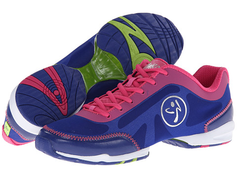Zumba - Zumba Flex Classic (Mazarine Blue/Fuchsia) Women's Shoes