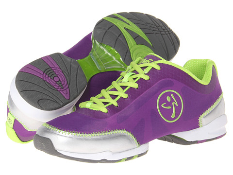 Zumba - Zumba Flex Classic (Purple/Silver/Lime) Women's Shoes