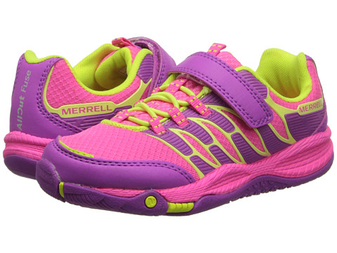 Merrell Kids - Allout Fuse A/C (Little Kid) (Pink/Citron) Girls Shoes