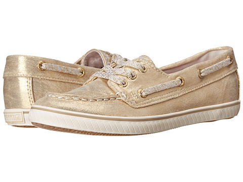 Sperry Top-Sider Kids - Cruiser (Little Kid/Big Kid) (Gold Canvas) Girls Shoes