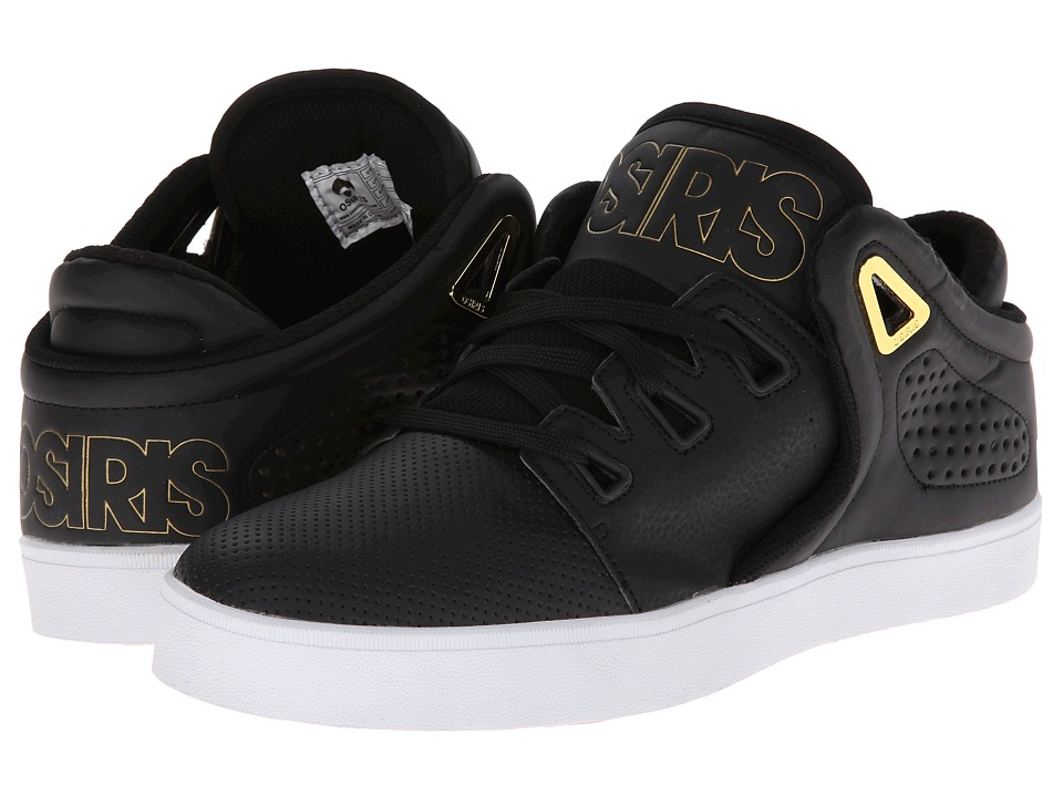 Osiris - D3V (Black/Gold/White) Men's Skate Shoes