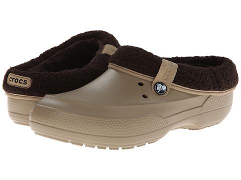 Crocs - Blitzen II Clog (Khaki/Espresso) Clog Shoes