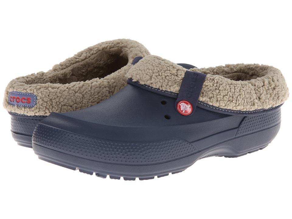 Crocs - Blitzen II Clog (Navy/Clay) Clog Shoes