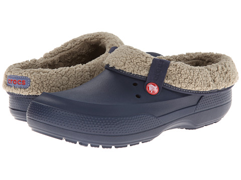 Crocs - Blitzen II Clog (Navy/Clay) Clog Shoes