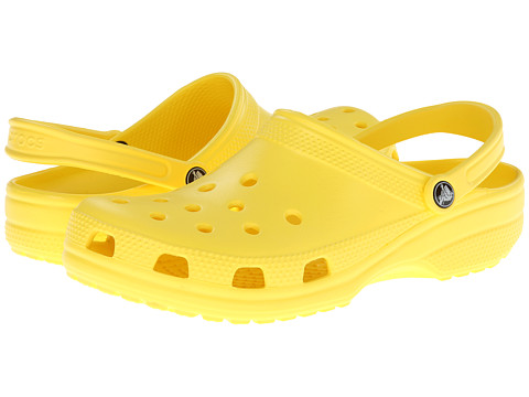 Crocs - Classic (Cayman) - Unisex (Sunshine) Clog Shoes