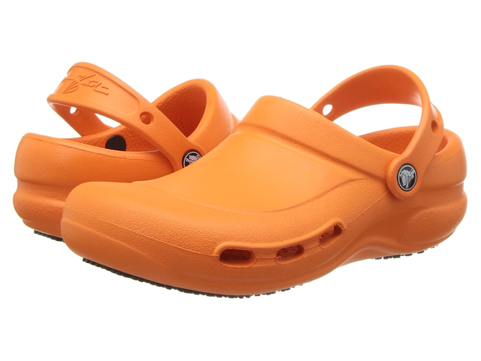 Crocs - Bistro Mario Batali Vent (Orange) Clog Shoes