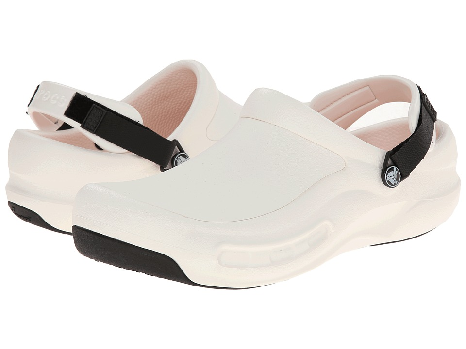 Crocs - Bistro Pro (White) Shoes