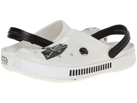 Crocs - Star Wars Stromtrooper Clog (White/Black) Clog Shoes