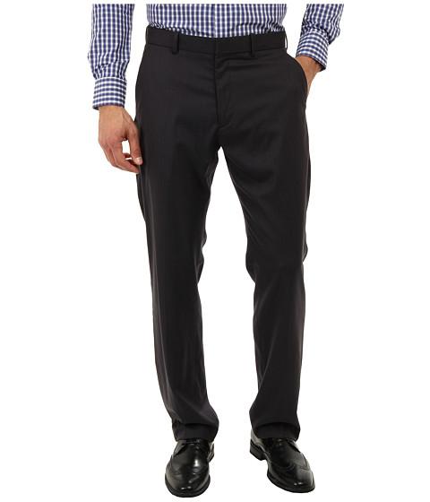 Perry Ellis - Varigated Stripe Dress Pant (Slate) Men's Casual Pants
