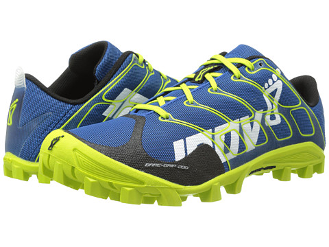 inov-8 - Bare-Grip 200 (Blue/Lime 1) Running Shoes